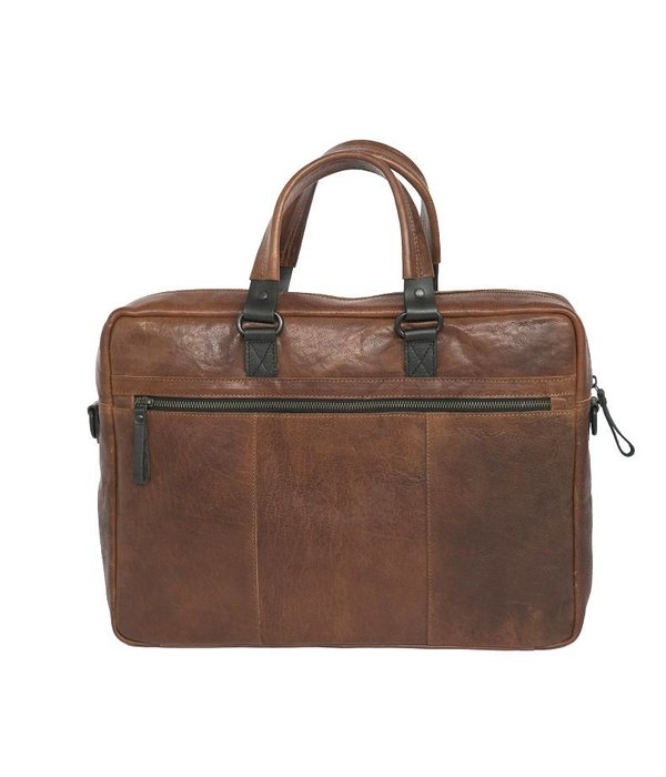 Bagz4you Bagz4you Laptop Cognac