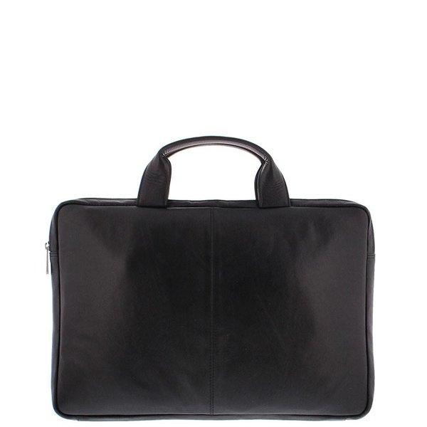 """Notebook-Tasche Soft-Nappa-Leder 15.6 """"Schwarz 4079-1"""