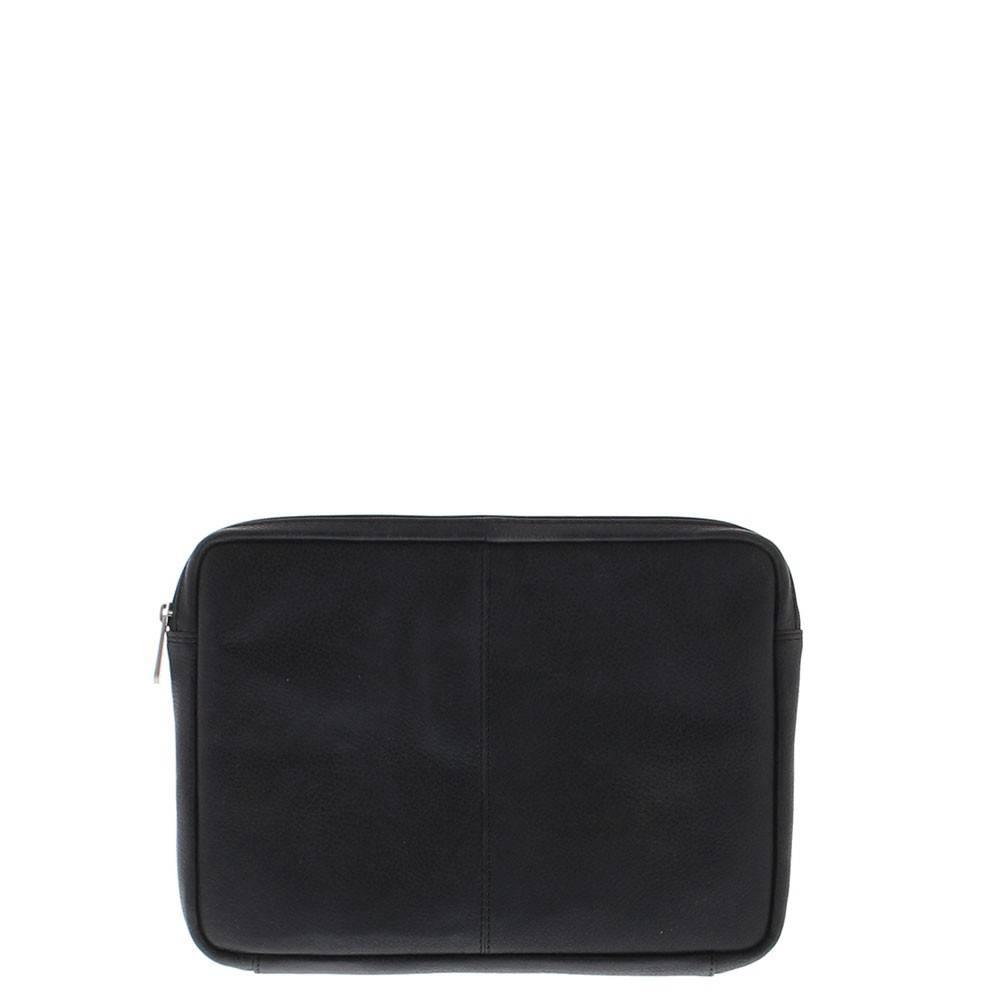 Plevier Laptop Sleeve Volnerf rundleer 12 Black 491-1