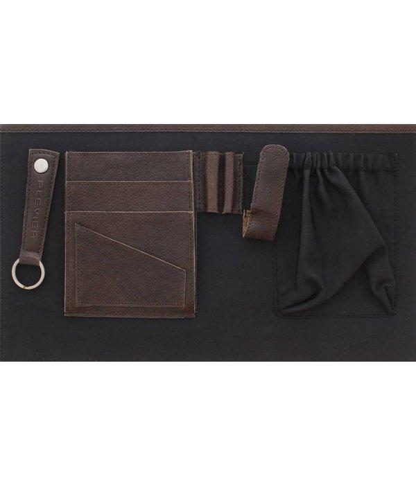 """Plevier Plevier Tote Laptop-Tasche Damen Rind 1-Fach 15.6"""" Cognac 483-3"""