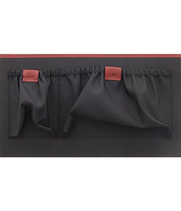 Plevier Plevier Gewerbe- / Laptop-Tasche Damen Kuhhaut 478 Rot-5