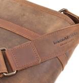 Berba Leder Laptop Tasche Barbarossa 826-145-71 Kaffee