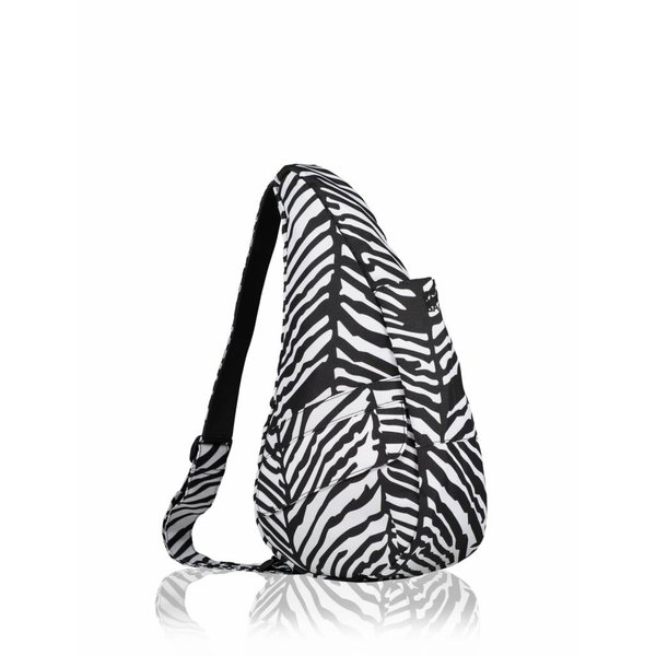 Die Healthy Back Bag Nylon Textured Schwarz Small - Copy