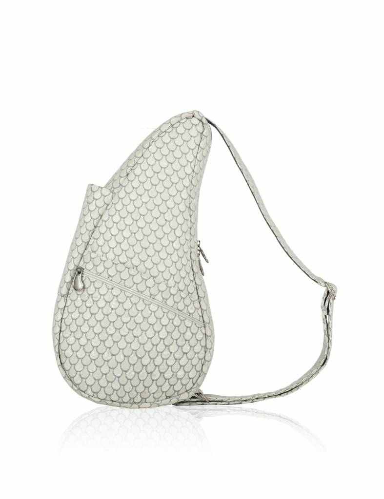 The Healthy Back Bag Polyester SEASHELL Small zilver grijs