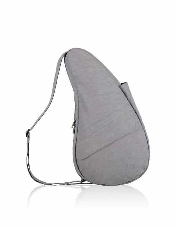 The Healthy Back Bag Textured Nylon PEBBLE GREY Small