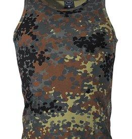 MFH BW Tarn Tank-Top, flecktarn, 160 g/m²
