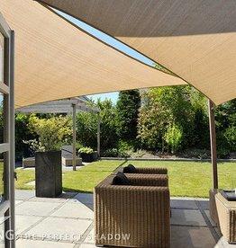 Nesling CoolFit Schatten Tuch Dreieck 5,0x5,0x5,0 m Sand - Nesling