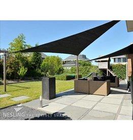 Nesling CoolFit Schatten Tuch Dreieck 5,0x5,0x5,0 m Schwarz - Nesling