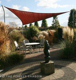 Nesling CoolFit Schatten Tuch Dreieck 5,0x5,0x5,0 m Terra - Nesling
