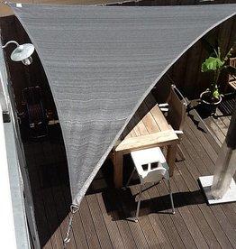 Nesling Coolfit Schaduwdoek Driehoek 5,0x5,0x5,0 m Grijs - Nesling
