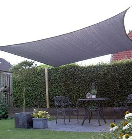 Nesling Coolfit Schaduwdoek Vierkant 5,0x5,0x5,0x5,0 m Grijs - Nesling