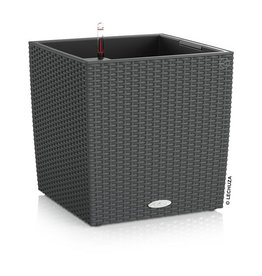 Lechuza Cube Cottage 40   Graniet ALL-IN-ONE