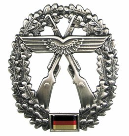 MFH BW Barettabzeichen, Luftwaffensich., Metall