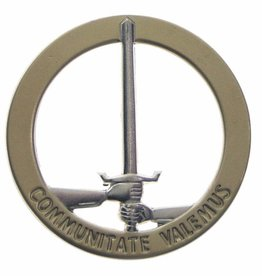 MFH BW Barettabzeichen, 1. NL/D-Corps, Metall
