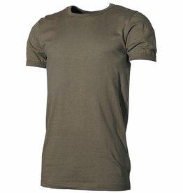 MFH Army onderhemd halfarm olijfkleurig extra groot