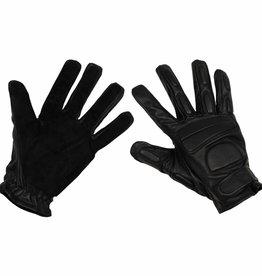 MFH Lederen handschoenen met beschermend leder zwart