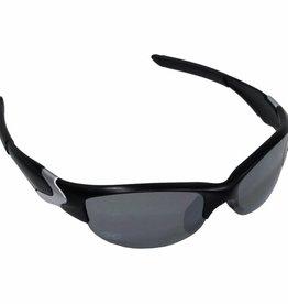 MFH Leger sportbril zwart kunststof kogelwerend