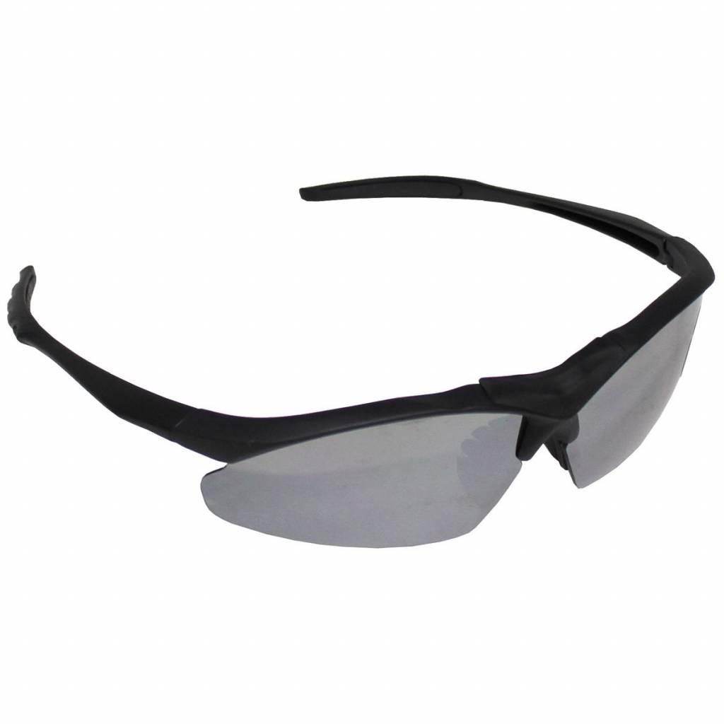MFH Armee Sportbrille, schwarz, Kunststoffrahmen - CampingCo