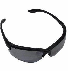 MFH Leger sportbril 'Strike' zwart verschillende kleuren glas en kogelwerend