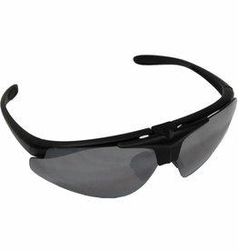 """MFH Armee Sportbrille, """"Hawk"""", schwarz, 2 Ersatzgläser"""