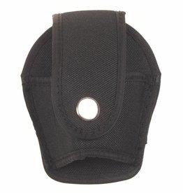 MFH Handboeienetui zwart nylon open model