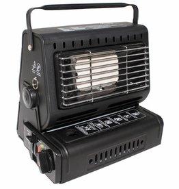 Fox Outdoor Gasheizer, mit Piezo-Zündung, schwarz