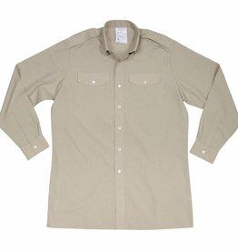 Original Brit. Feldhemd, khaki, langarm, neuwertig