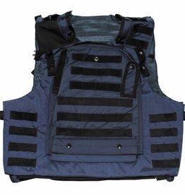 MFH Brit. Cover-Body-Armour, Osprey ASSAULT, blau, neuw.