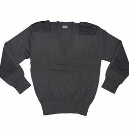 Original Österr. BH V-Pullover, grau, neuwertig