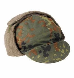 Original Army wintermuts vlekcamouflage gebruikt (set van 10)