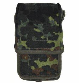 Original Army Taschenlampentasche vlekcamouflage als nieuw (set van 5)
