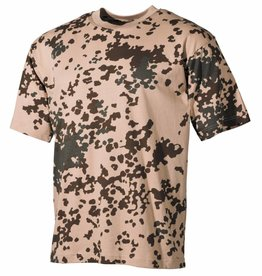 MFH Army T-Shirt halflange mouw Army tropencamouflage 160g/m²