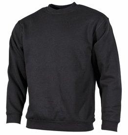 MFH Sweatshirt, 'PC', schwarz 340g/m², B-Ware