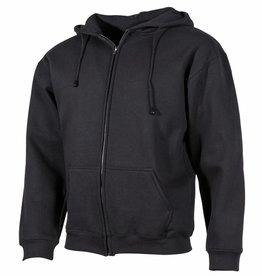 ProCompany Kapuzen Sweatshirt-Jacke, PC, 340g/m², schwarz