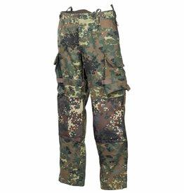 MFH Army Legerbroek Einsatz/Übung vlekken camouflage
