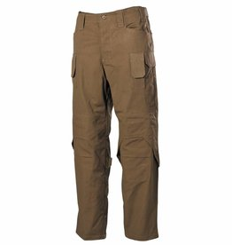 MFH High Defence Einsatzhose 'Mission' Ny/Co Rip Stop coyote tan