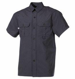Fox Outdoor Outdoor Hemd korte mouwen zwart Microfaser