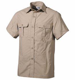 Fox Outdoor Outdoor Hemd korte mouwen khaki Microfaser 2 borstzakn