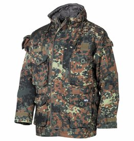 MFH Commandjack 'Smock' Rip Stop vlekken camouflage