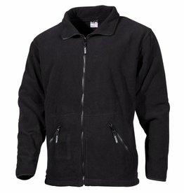 Fox Outdoor Fleece-Jas 'Arber' zwart Full Zip