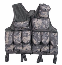 MFH Tactical vest Netzeinsatz AT-digital in grootte verstelbaar