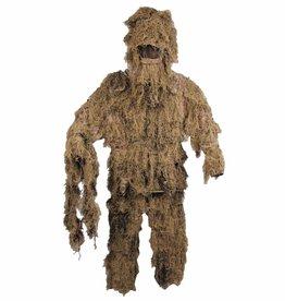 MFH Camouflage pak 'Ghillie Suit' (Jas broek en hoed) desert