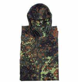 MFH Army Poncho Rip Stop Mod. vlekcamouflage Afmetingen 144 x 223 cm