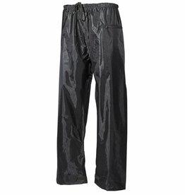 MFH Regenbroek Polyester met PVC olijf/legergroen