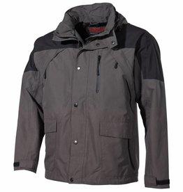 Fox Outdoor Regenjack 'High Mountain' zwart/groen