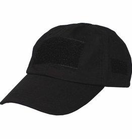 MFH High Defence Einsatz-Cap, mit Klett, Einheitsgröße, schwarz