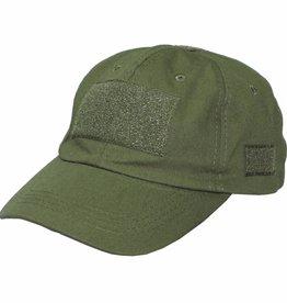 MFH High Defence Einsatz-Cap, mit Klett, Einheitsgröße, oliv