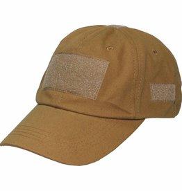 MFH High Defence Einsatz-Cap, mit Klett, Einheitsgröße, coyote tan