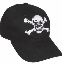 "ProCompany BB Cap, flach, ""Totenkopf"", schwarz"