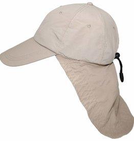 "Fox Outdoor Cap, ""Sahara"", khaki, langer Nackenschutz"